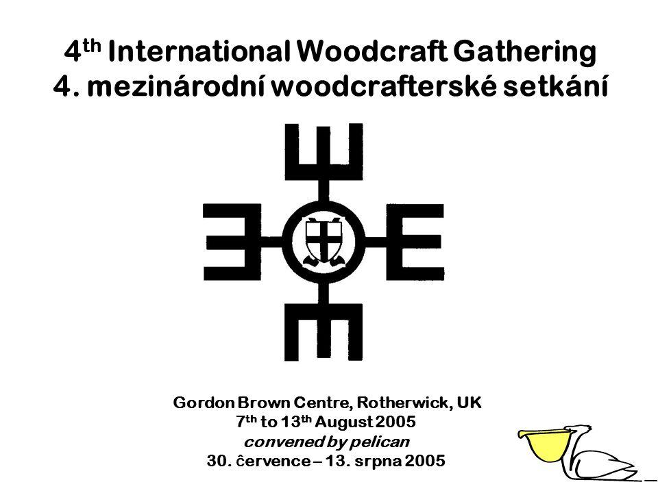 pelican's International Adventures 1 st International Woodcraft Gathering Sklene n.