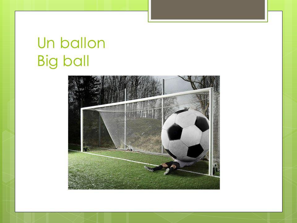Un ballon Big ball