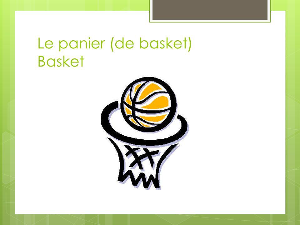 Le panier (de basket) Basket