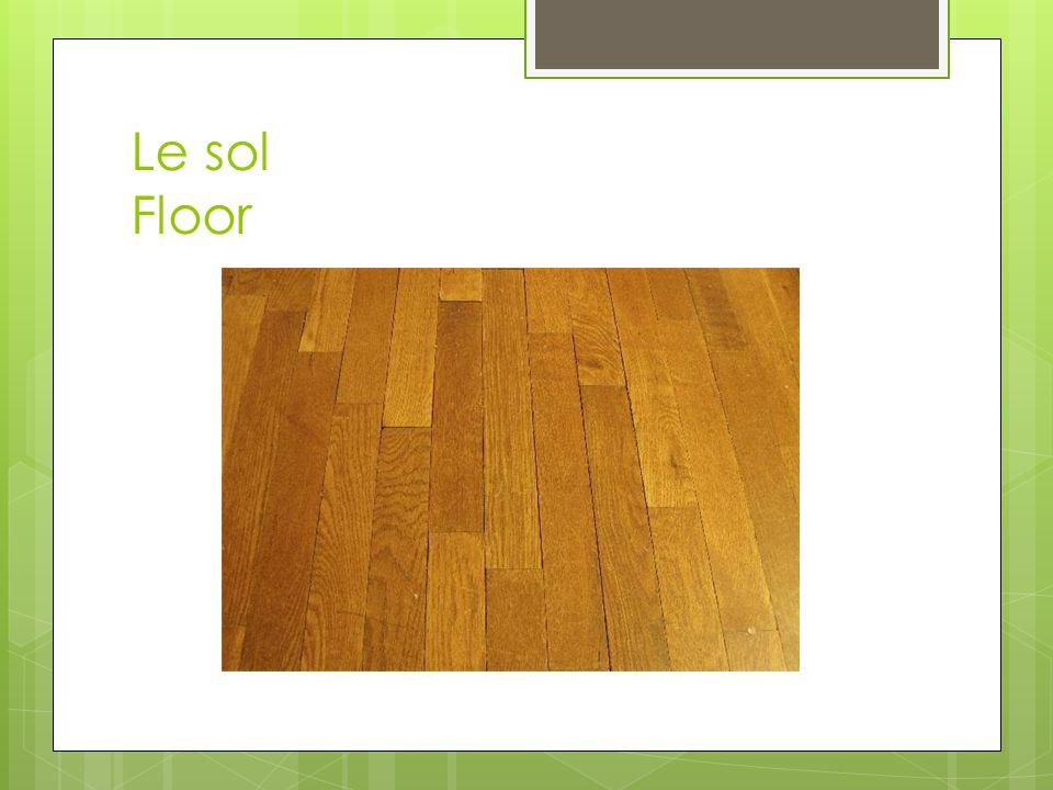 Le sol Floor