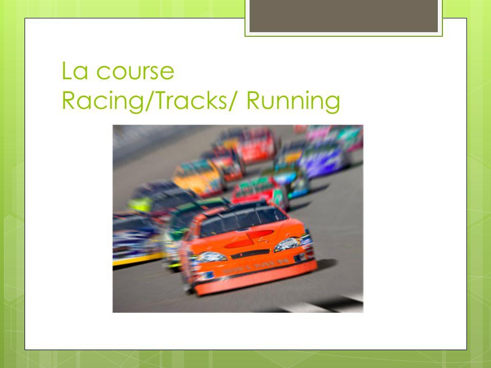 La course Racing/Tracks/ Running