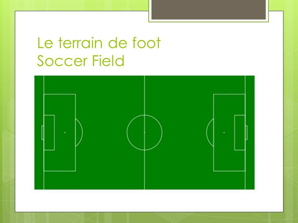 Le terrain de foot Soccer Field