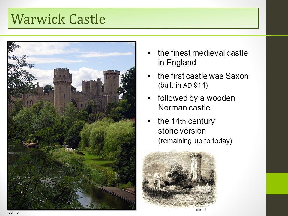 Warwick Castle obr.
