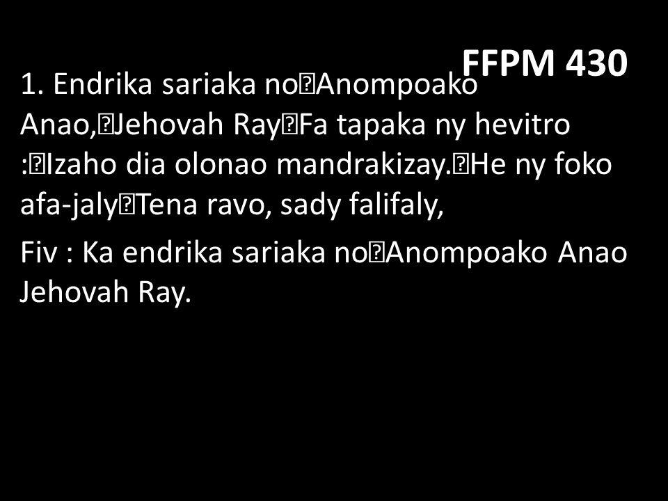 FFPM 430 2.