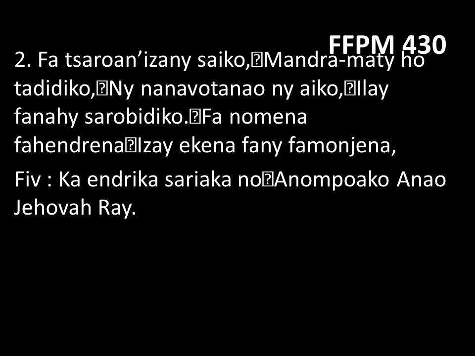 FFPM 430 3.