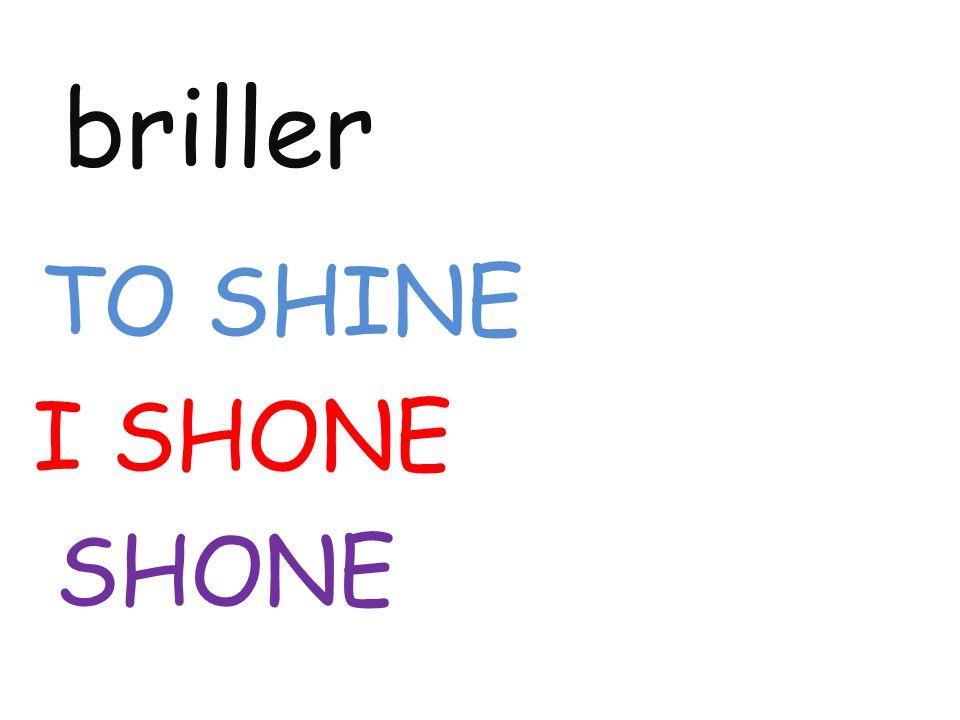 briller TO SHINE I SHONE SHONE