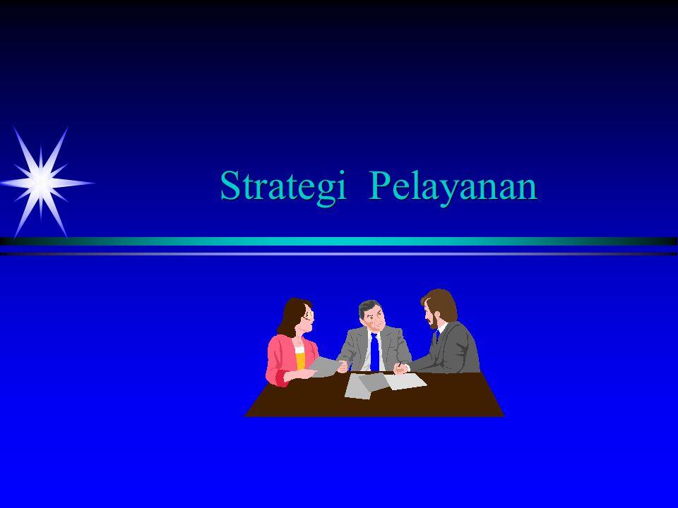 Sasaran Pembelajaran ä ä Formulate a strategic service vision.