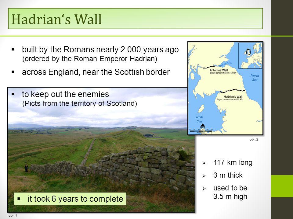 Hadrian's Wall obr. 1 obr.