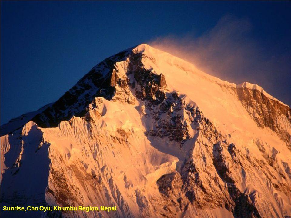 Mount Thamserku, Nepal