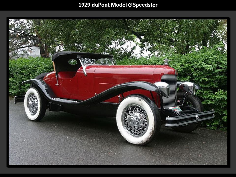 1929 duPont Model G Speedster