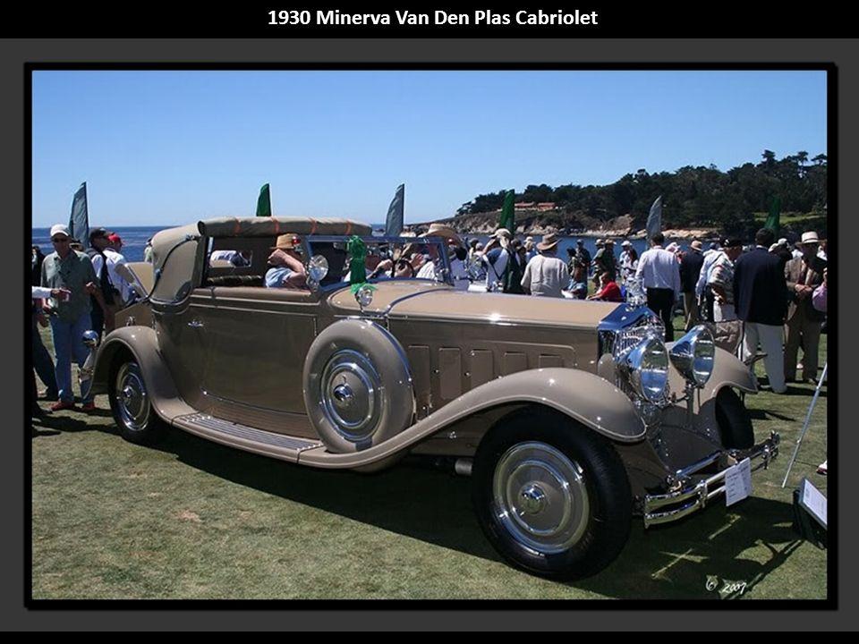 1930 Minerva Van Den Plas Cabriolet