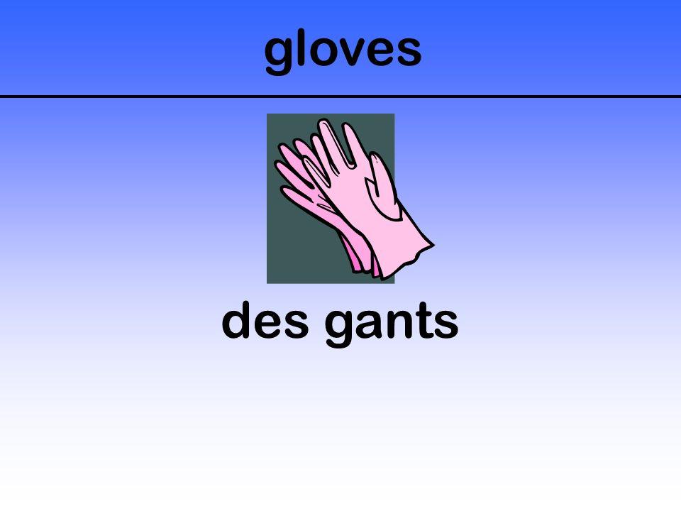 gloves des gants