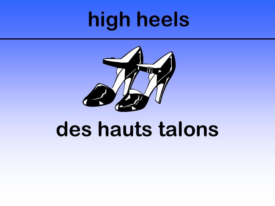 high heels des hauts talons