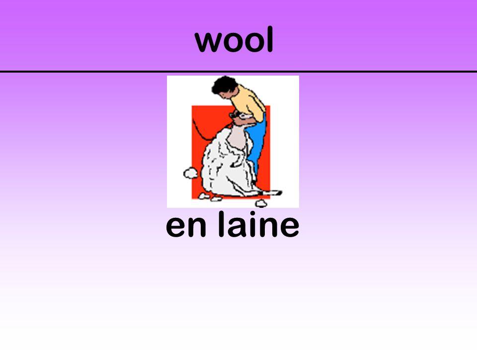 wool en laine