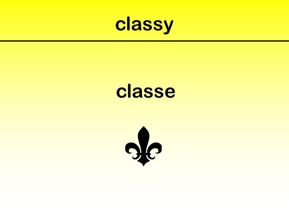 classy classe