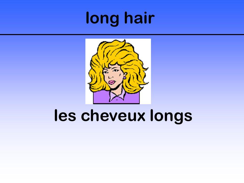 long hair les cheveux longs