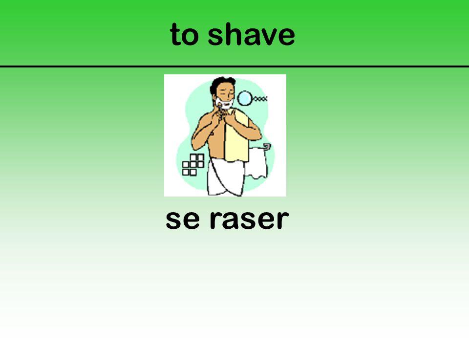 to shave se raser