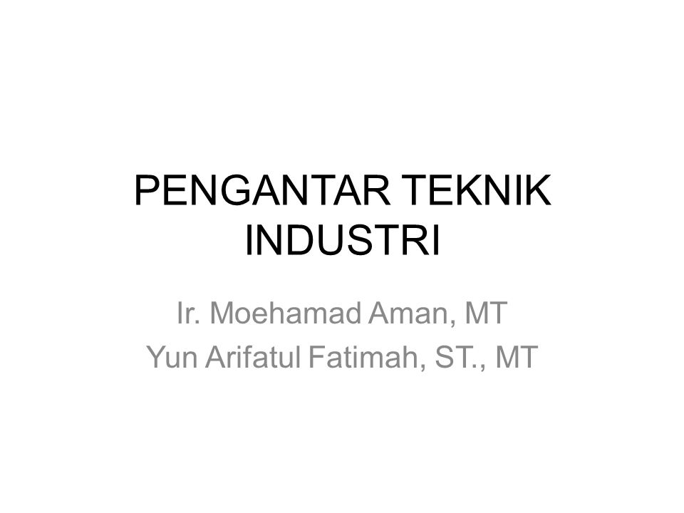 What are the specialties of Industrial Engineering.