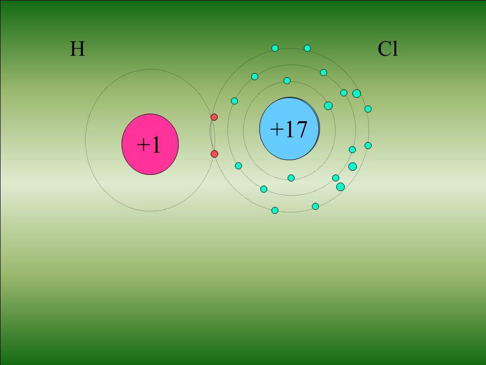 Cl +1 H +17 Cl