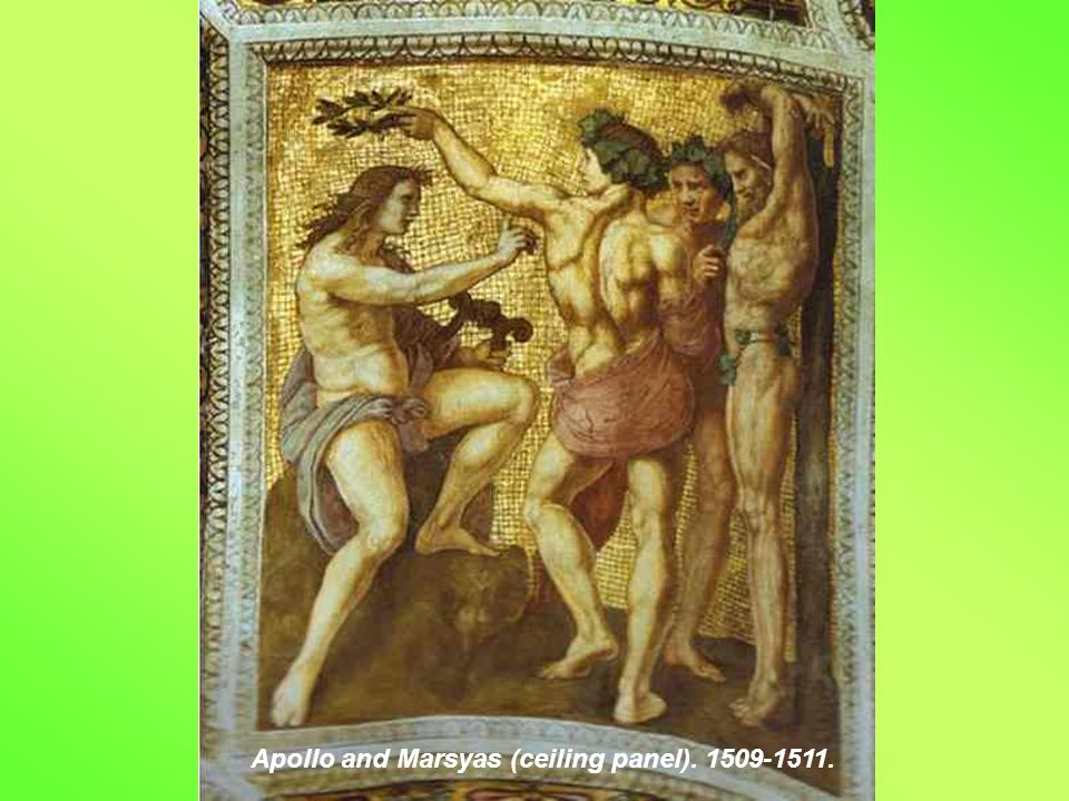 Adam and Eve (ceiling panel). 1509-1511