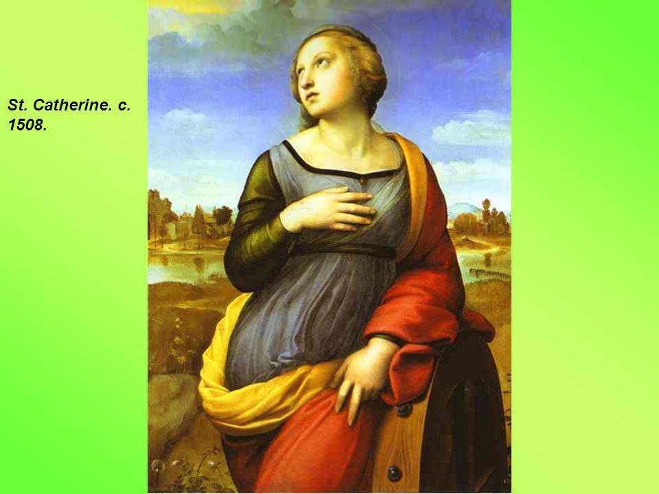 St. Catherine. c. 1508.