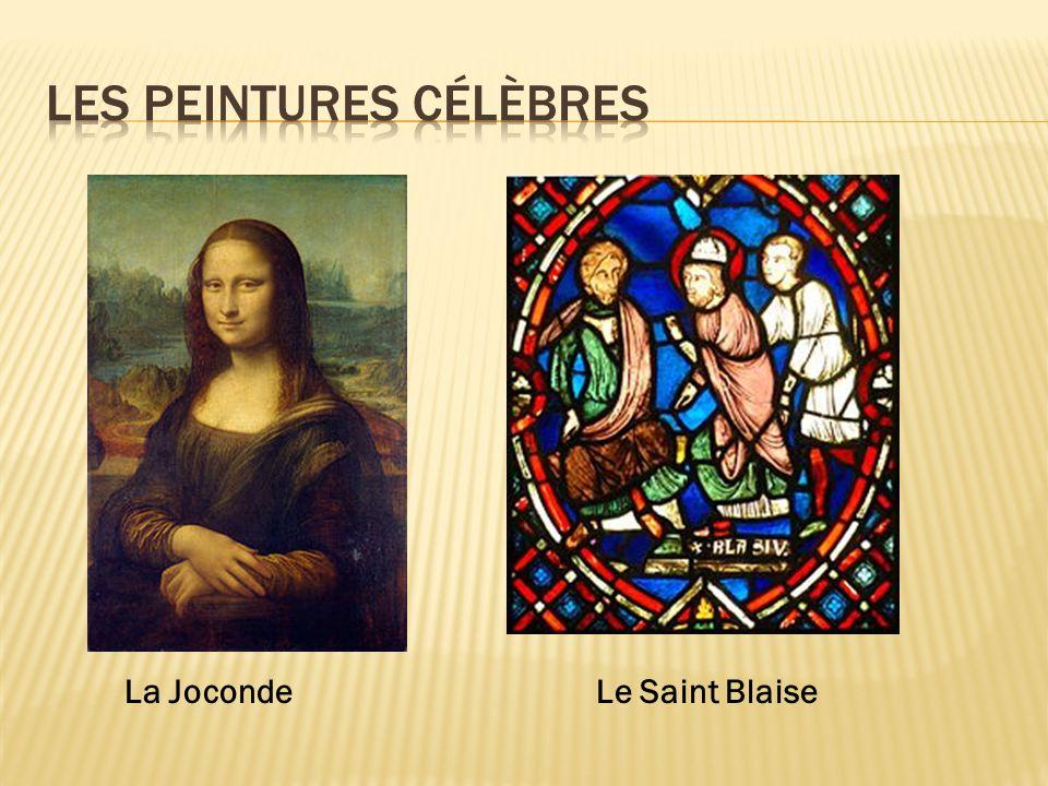 La JocondeLe Saint Blaise
