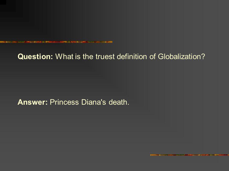 Makna globalisasi Pemadatan dunia dengan penumpuan kepada keprihatinan terhadap dunia secara menyeluruh...kebergantungan