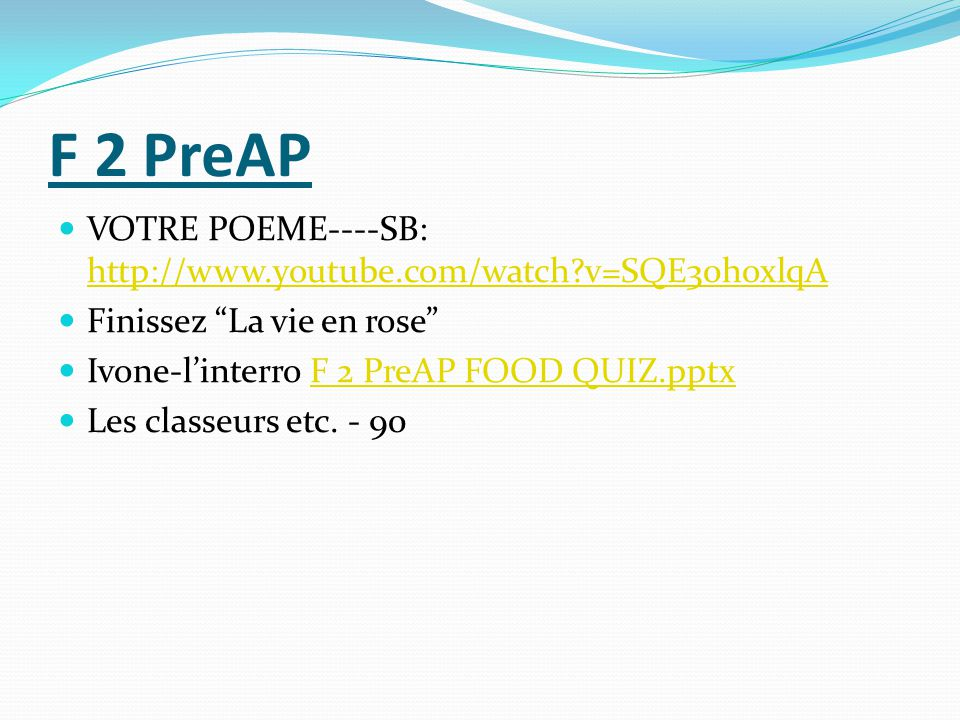 F 2 Poem links-to study on your own.