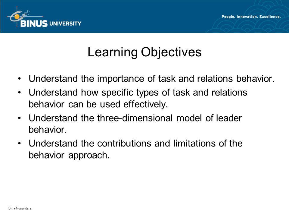 Bina Nusantara Ohio State Leadership Studies Consideration Initiating Structure