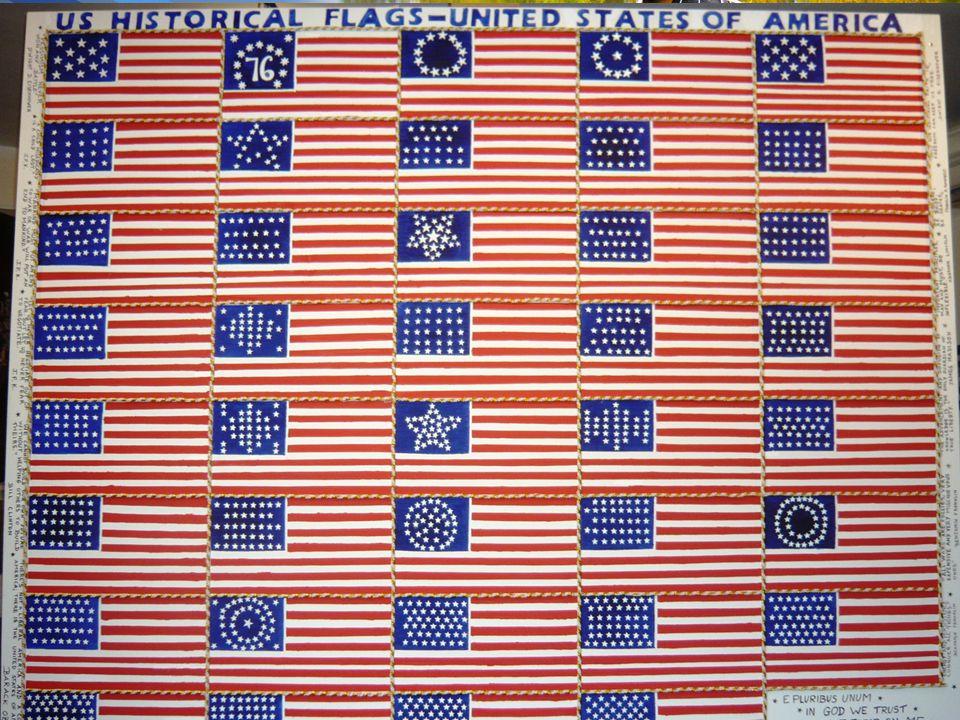 What the USA flag looks like