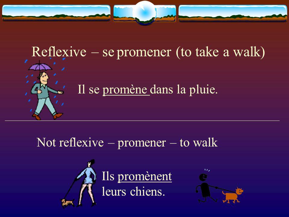 REFLEXIVE VERBS Unit 5, Lesson 19