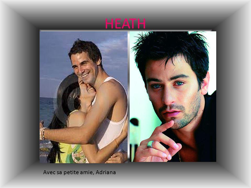 HEATH Avec sa petite amie, Adriana