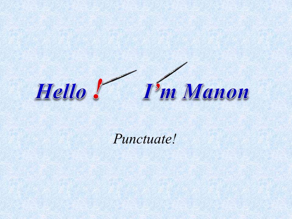 Punctuate!