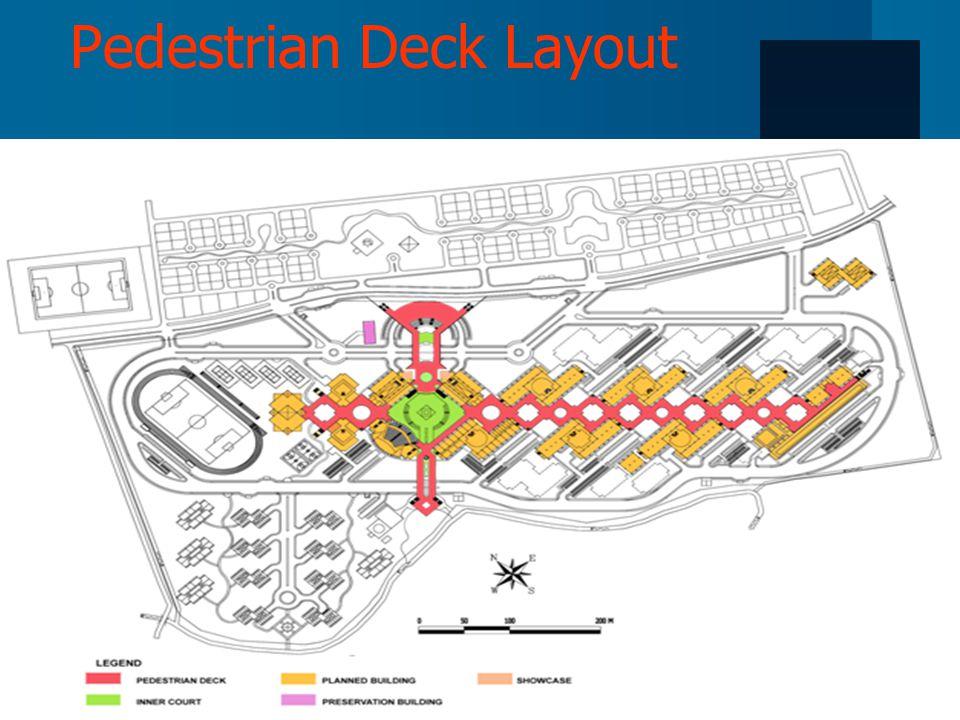 Pedestrian Deck Layout