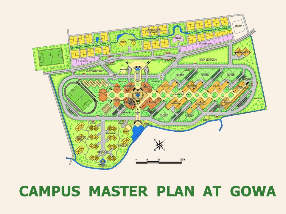 CAMPUS MASTER PLAN AT GOWA