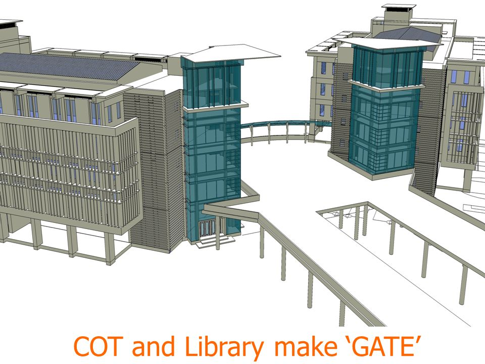 COT and Library make 'GATE'