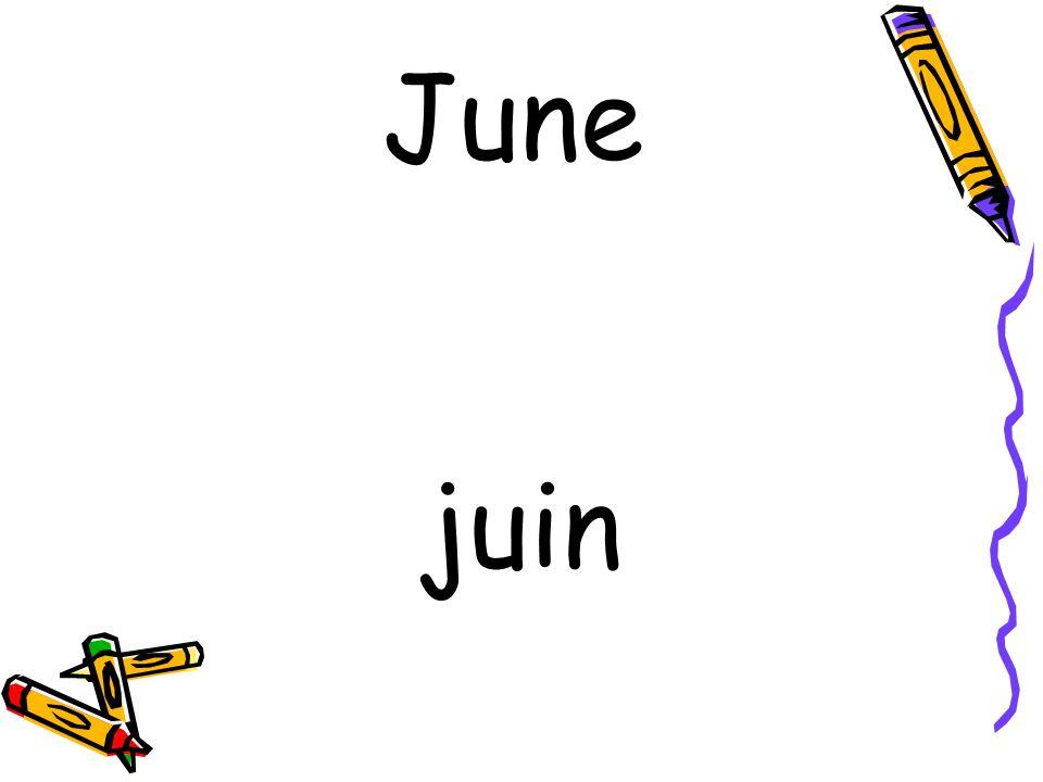 juin June