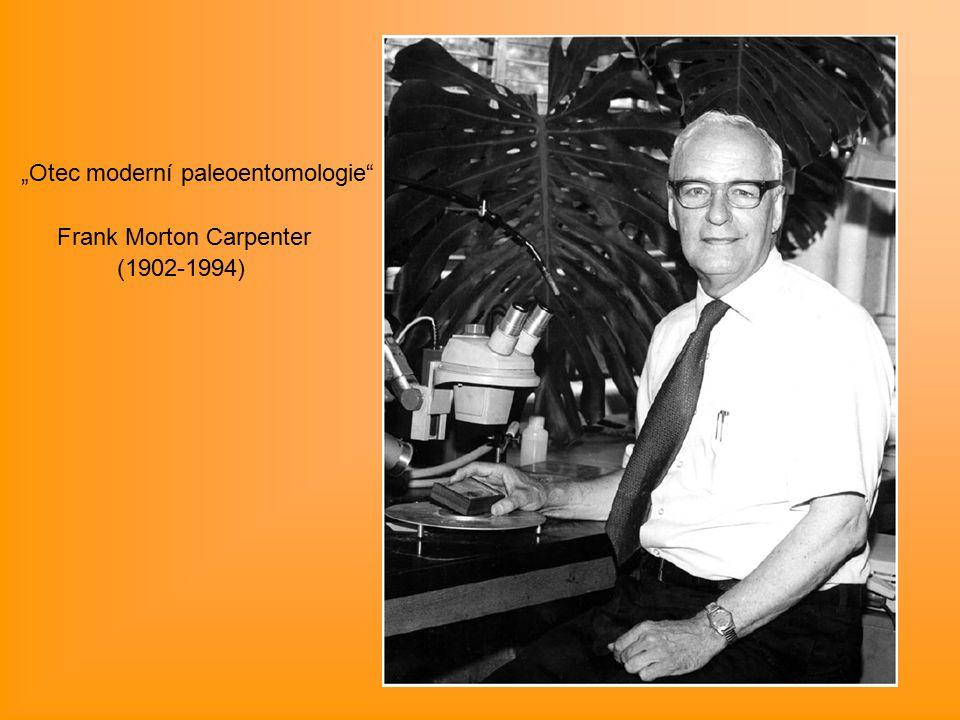"""Otec moderní paleoentomologie Frank Morton Carpenter (1902-1994)"