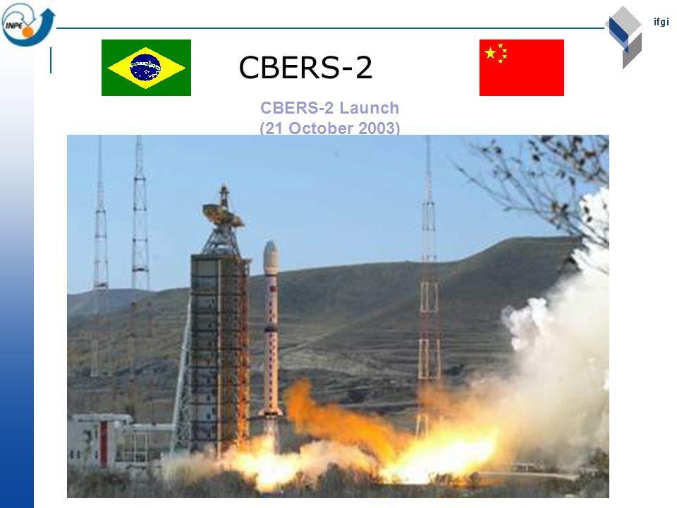CBERS-2 Launch (21 October 2003) CBERS-2