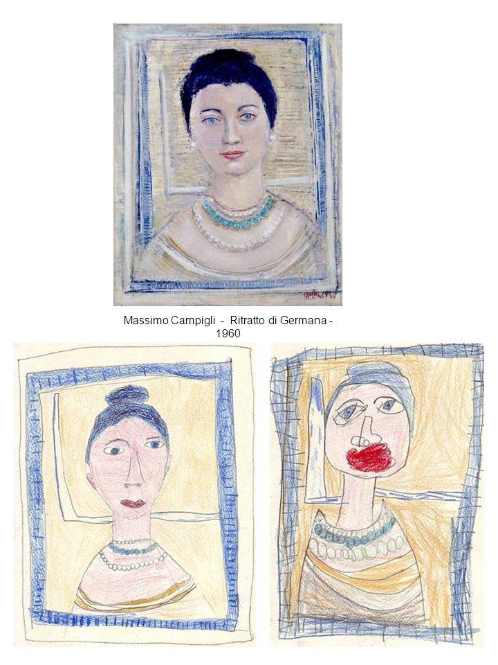 Massimo Campigli - Ritratto di Germana - 1960