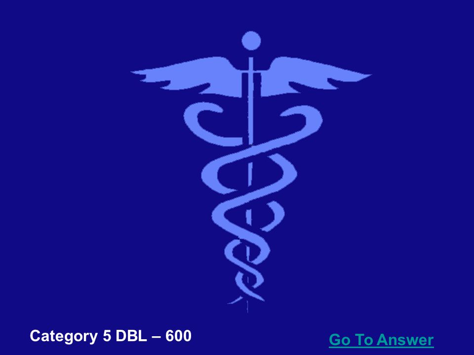 Go To Answer Category 5 DBL – 400