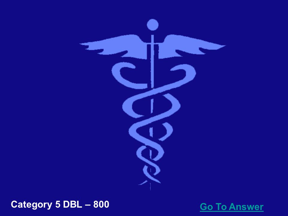 Go To Answer Category 5 DBL – 600