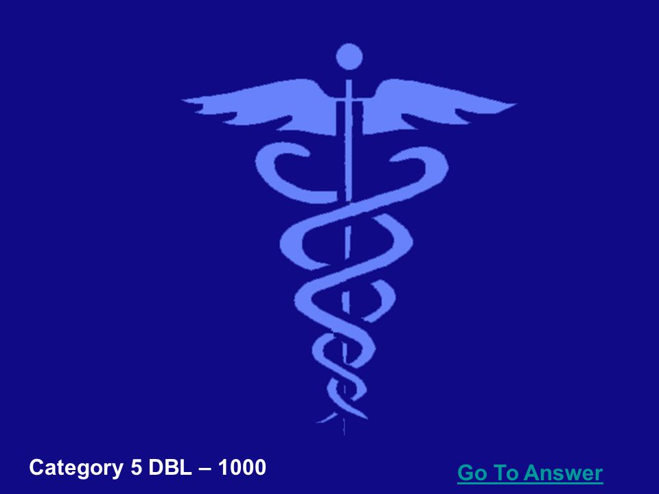 Go To Answer Category 5 DBL – 800