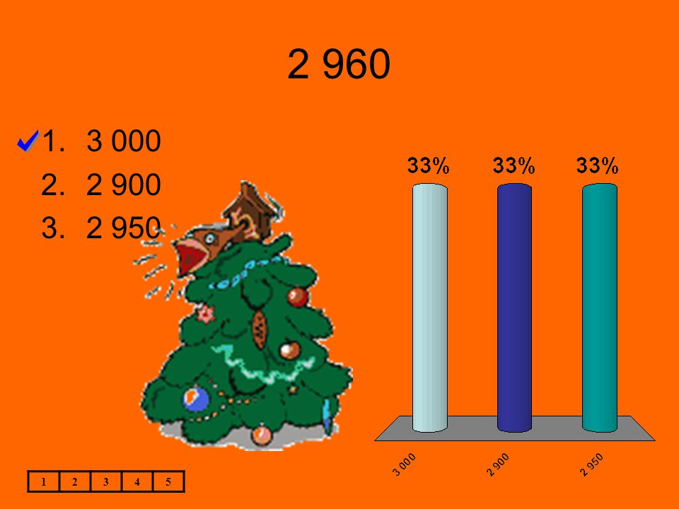 2 960 12345 1.3 000 2.2 900 3.2 950