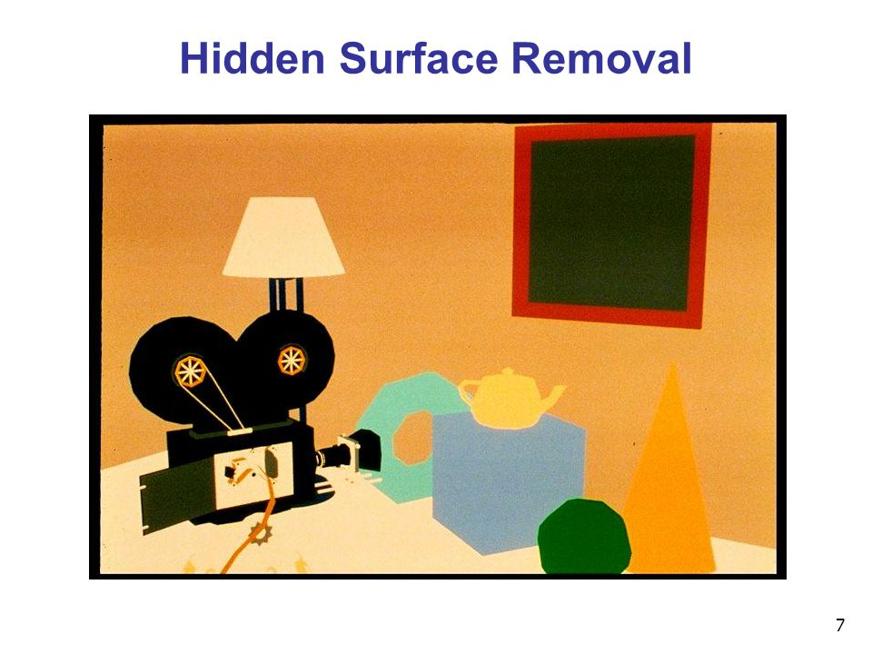 7 Hidden Surface Removal