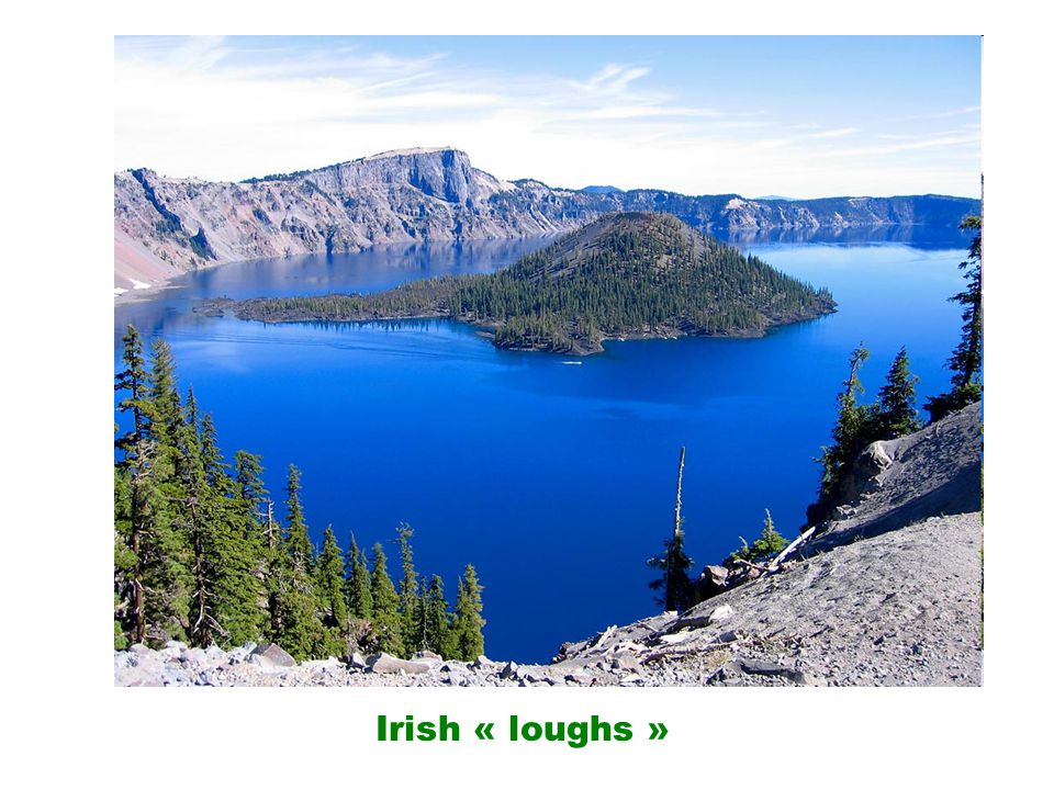 Irish « loughs »