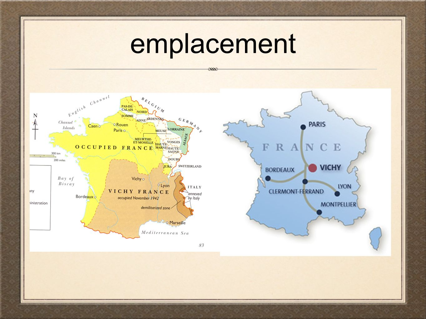 emplacement
