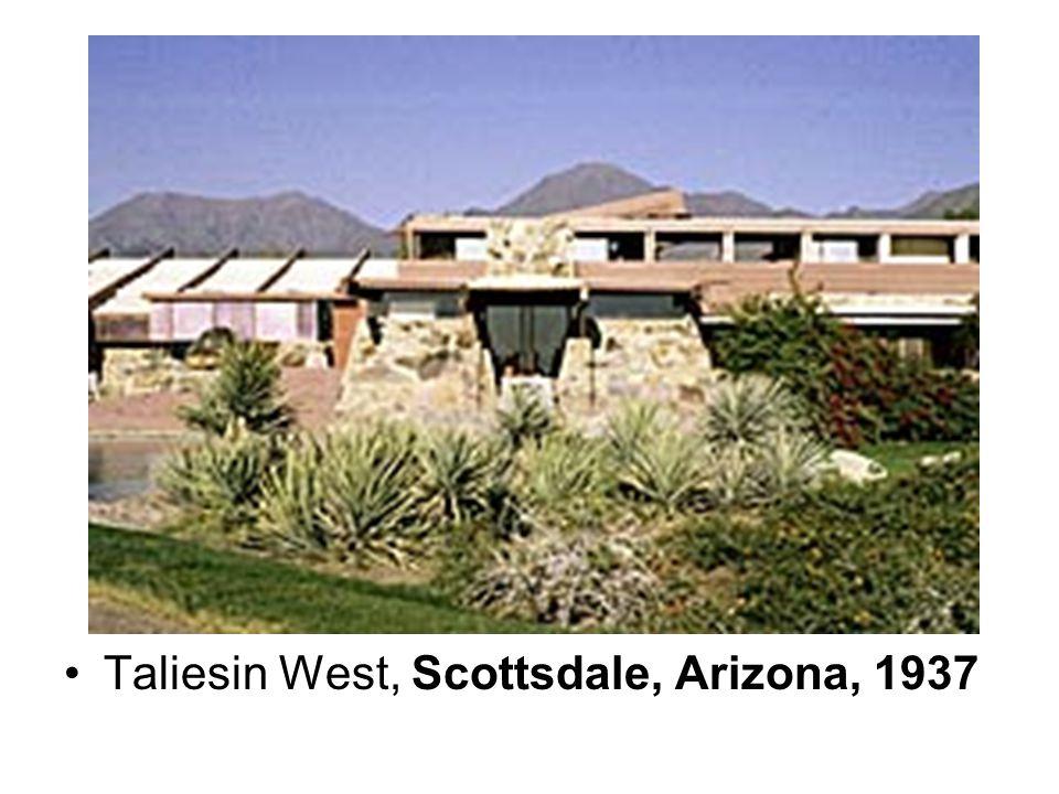 Taliesin West, Scottsdale, Arizona, 1937