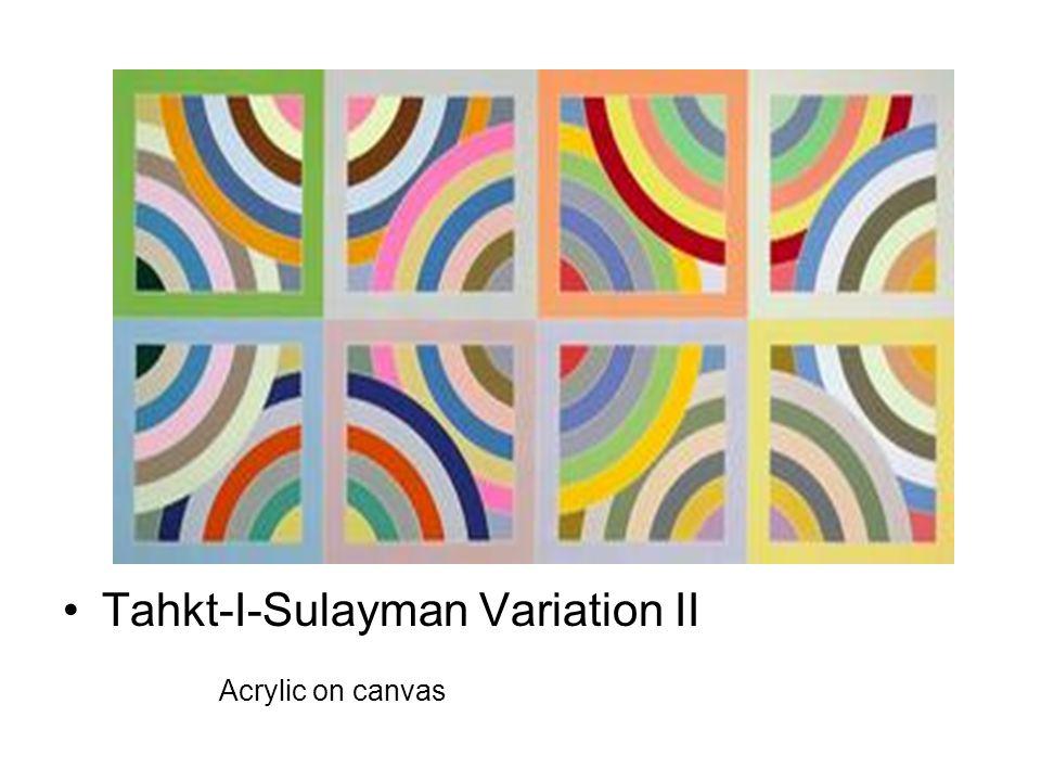 Tahkt-I-Sulayman Variation II Acrylic on canvas