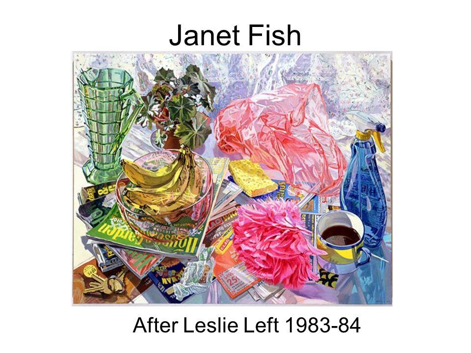 Janet Fish After Leslie Left 1983-84